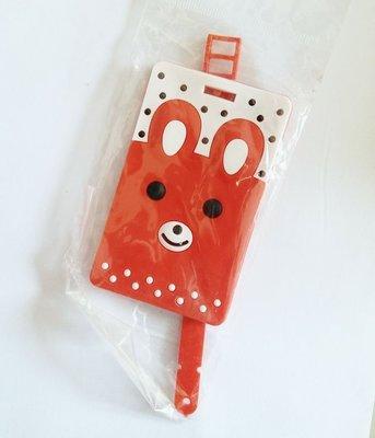 Osmileooo-小兔姓名牌 行李牌 書包掛牌 八達通卡套 45g