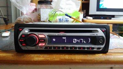 SONY的50Wx4大功率MP3主機CDX-GT260S(前有AUX)