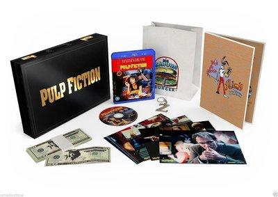 毛毛小舖--藍光BD 黑色追緝令 英國限量禮盒版 Pulp Fiction