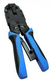 【須訂購】HT2008AR棘輪壓線工具 台灣鋼製做軸心 切線/剝線皮,一次完成. 適用於RJ45/12/11