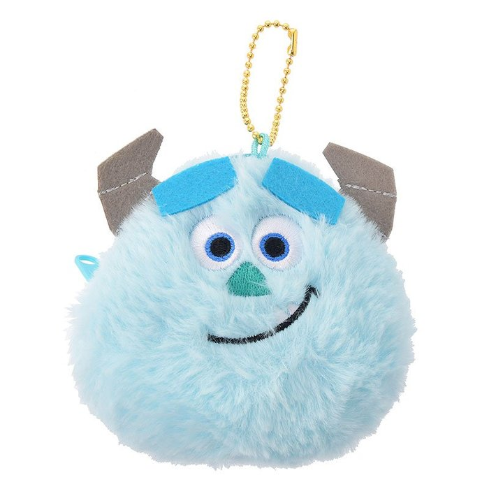 《FOS》日本 Disney 迪士尼 可愛 毛怪 大眼仔 零錢包 怪獸電力公司 鑰匙包 鑰匙圈 吊飾 禮物 2019新款
