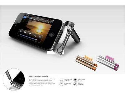 光華CUMA散熱精品*Awesome 3合1多功能 觸控筆 透黑/透橘/透明粉紅 三色可選 特價出清~現貨