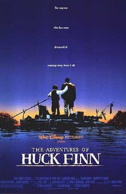 小鬼闖天關-The Adventures of Huck Finn (1993)原版電影海報