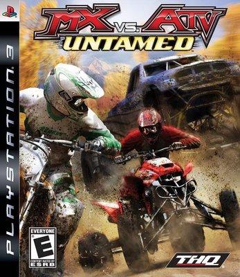 【二手遊戲】PS3 飆風越野車 MXvsATV Untamed 賽車 英文版【台中恐龍電玩】