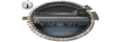 傑仲 博蘭 FLEISCHMANN 鐵軌零件 Electrically operated 9152 N