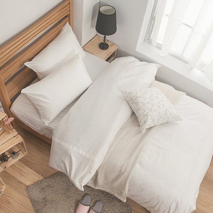 床包 / 雙人加大【簡單生活系列-多色可選】含兩件枕套  100%精梳棉  戀家小舖台灣製AAA301