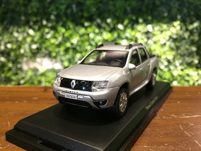 1/43 Norev Renault Duster Oroch Pick-Up 2016 Silver【MGM】