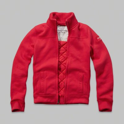 A&F cellar mountain full zip 立領外套 (S) by Abercrombie & Fitch
