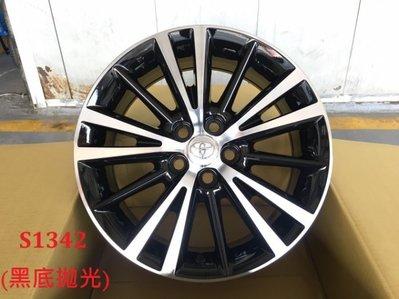 和田☆ 全新 TOYOTA ALTIS 原廠款式 16吋 5孔100 鋁圈 OEM 黑車面 11代 11.5代 WISH