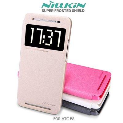 *PHONE寶*NILLKIN HTC All New One E8 星韵系列皮套 開窗側翻皮套 保護套 保護殼 手機套