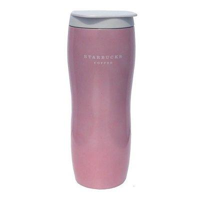 星巴克 粉紅杯 , Starbucks 粉紅不鏽鋼隨行杯, 星巴克隨行杯 16oz , 情人節最佳禮物, 完美主義者勿買