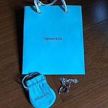 TIFFANY&Co.純銀葉子項鍊