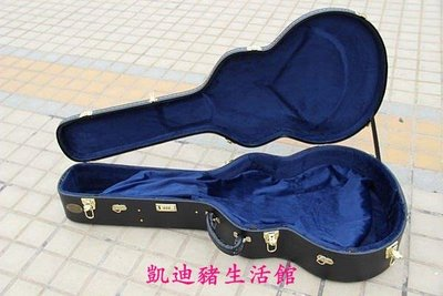 【凱迪豬生活館】高檔41/42寸通用民謠吉他盒 凸面金扣吉他木盒 密碼加鎖扣 吉他箱KTZ-200918