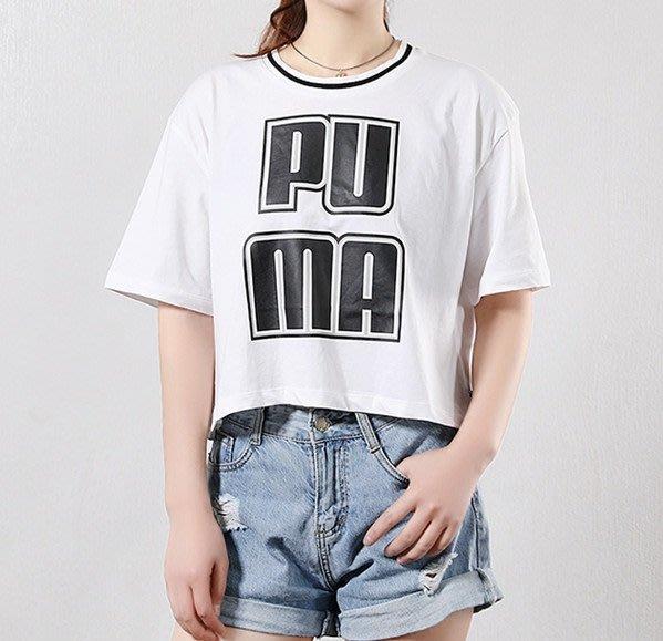JMX PUMA 女基本系列 Rebel Reload短袖T恤 白 579533-02 桃粉 579533-13 歐規