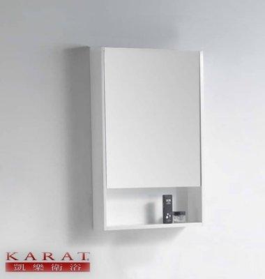 【工匠家居生活館 】KARAT 凱樂衛浴 NC-4827G 置物鏡櫃 化妝鏡 衛浴鏡箱 鏡面收納櫃