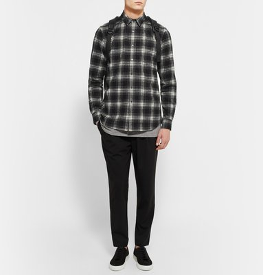 Public School Black And White Checkered Shirt