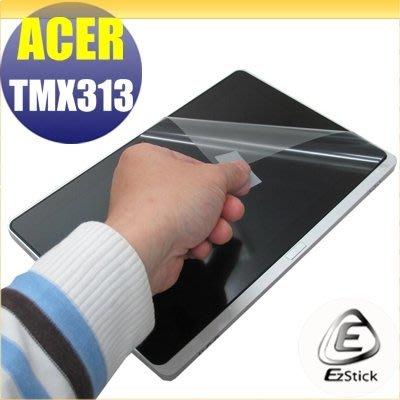 【Ezstick】ACER Travelmate TMX313 靜電式平板LCD液晶螢幕貼 (可選鏡面或霧面)