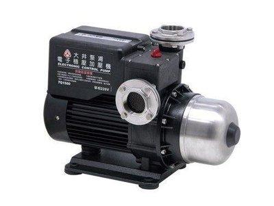 【泵浦五金】大井TQ1500 。2HP*2 電子穩壓加壓馬達。低噪音。不生銹 TQ1500B
