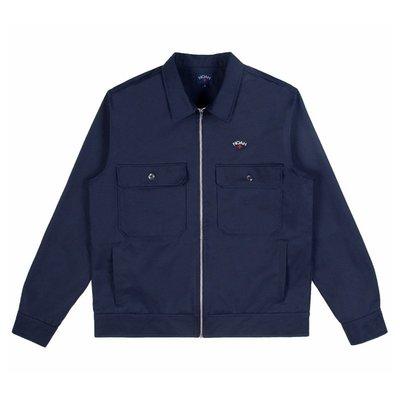 NOAH NYC Cause For Alarm Work Jacket 口袋 拉鏈 工裝 夾克 外套 男女 紅 深藍