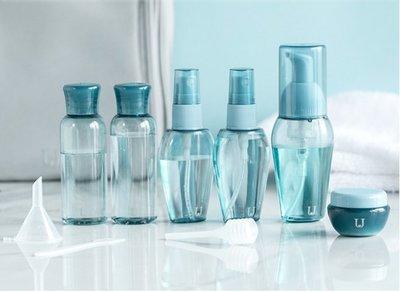 促銷   自製乾洗手 次氯酸水 消毒水 除臭液 酒精 抗菌液分裝瓶 旅行分裝瓶套裝 分裝瓶6件套便攜透明大容量洗漱收納瓶