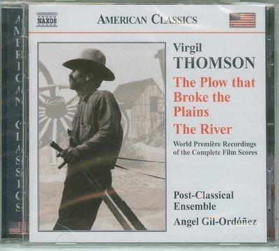"""Plow that Broke the Plains/River""- Virgil Thomson,全新加拿大版P23"