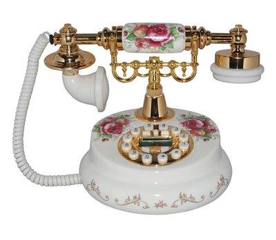 福利館◎【復古風仿電話x免運優惠中x贈USB燈】DKT-30D 貴夫人 經典款電話