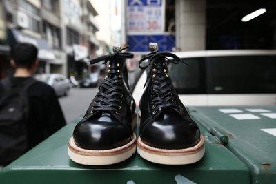 Unmarked 聯名 HORWEEN VIBRAM 馬臀皮 拼接 魟魚皮 猴子靴 真皮 靴 皮鞋 限量 20%OFF