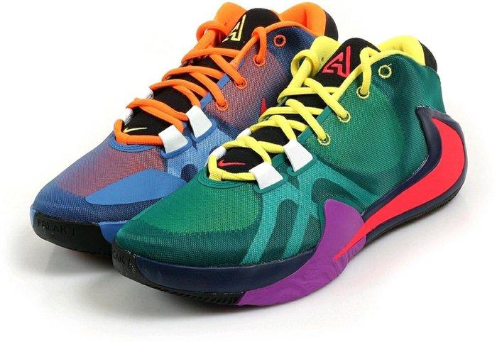 Nike Zoom Freak 1 MVP 字母哥 Giannis 兄弟 父母 玫瑰 Multi ASG 明星賽 雙層 Zoom Air 彩色 各尺寸