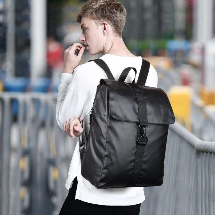 SX千貨鋪-新款雙肩包男士潮流休閑時尚高中學生書包青年電腦包韓版旅行背包#男士背包#書包#單肩包#書包
