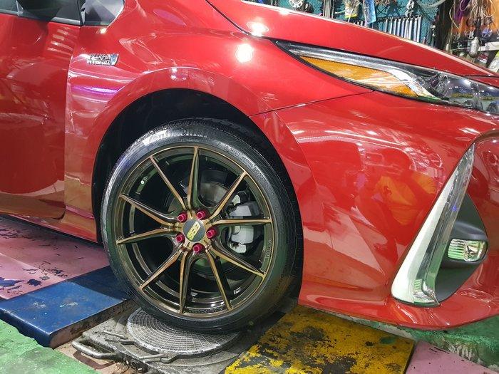 TOYOTA Prius PHV 鋁圈 17吋鍛造鋁圈 15吋鍛造鋁圈 18吋鋁圈 5X1