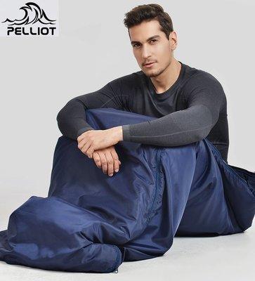 【露西小舖】Pelliot防潑水戶外睡袋(牛津大學聯名款)室內成人睡袋四季被子地墊適合四季登山露營旅行居家客人多臨時地墊