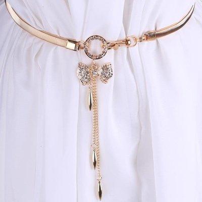 腰帶女腰腰衣服身優雅子配潮流飾品裝飾鬆緊配飾歐美   全館免運