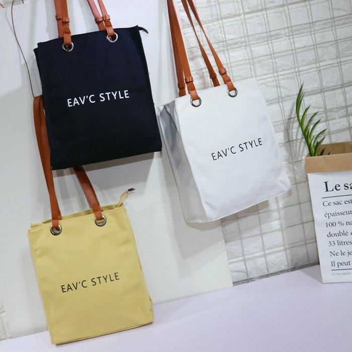 那家小屋-韓版洋氣新款帆布字母托特包時尚休閑單肩包大容量包包手提包#手機包#斜挎包#單肩包#信封包#零錢包