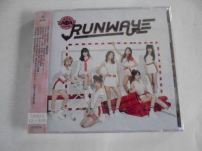 AOA -- RUNWAY **全新**CD+DVD+小卡盤