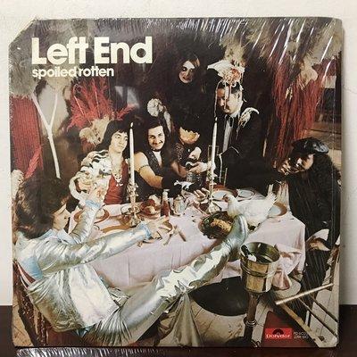 晨雨黑膠【西洋】美版/Left End – Spoiled Rotten (1974首版)