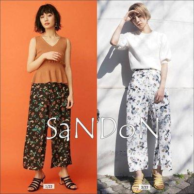SaNDoN x『MURUA』本季花色主打 印花圖案花朵長褲 寬褲  SLY MOUSSY 韓妮 180517
