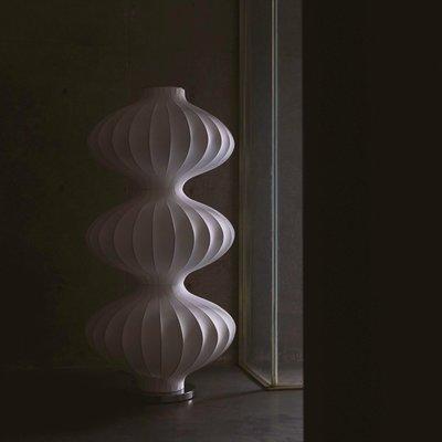 臥室氛圍燈PRINT:H|專利設計UNLESS侘寂落地蠶絲燈氛圍臥室客廳赤貧風現代