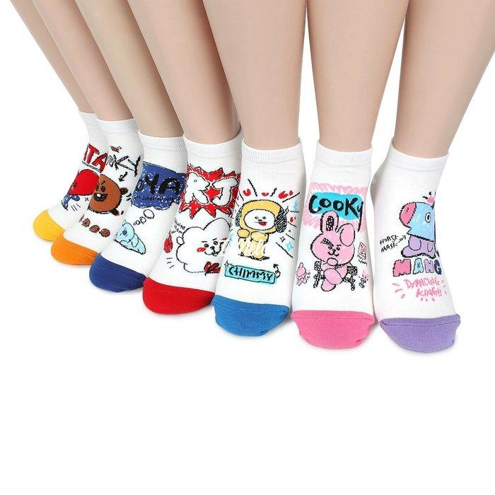 ::: i-MelOn ::: 100%韓國空運 正韓【現貨】韓製  BTS 襪子 短襪