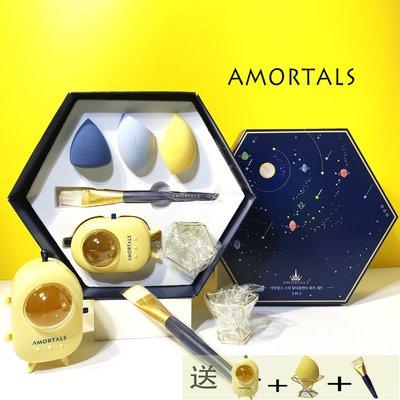 飛飛媽咪in Korea 爾木萄星球美妝蛋禮盒三個裝 不吃粉 超軟化妝海綿彩妝蛋