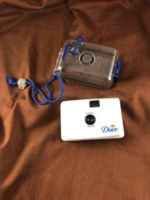【 2手相機 】 【 老品 老物 】 Dove 潛水相機 玩具相機 LOMO相機
