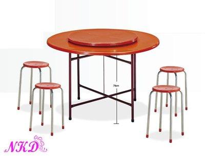 【NKD傢俱裝潢館】纖維4尺圓桌(不含轉盤)  特價$1500元  SB 388-7 n 新北市