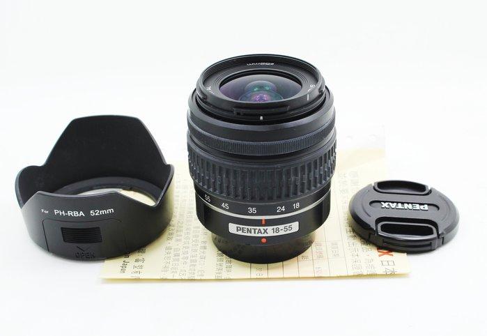 【高雄青蘋果3C】Pentax DAL 18-55mm f3.5-5.6 AL SMC 二手鏡頭 鏡片起霧 #08507