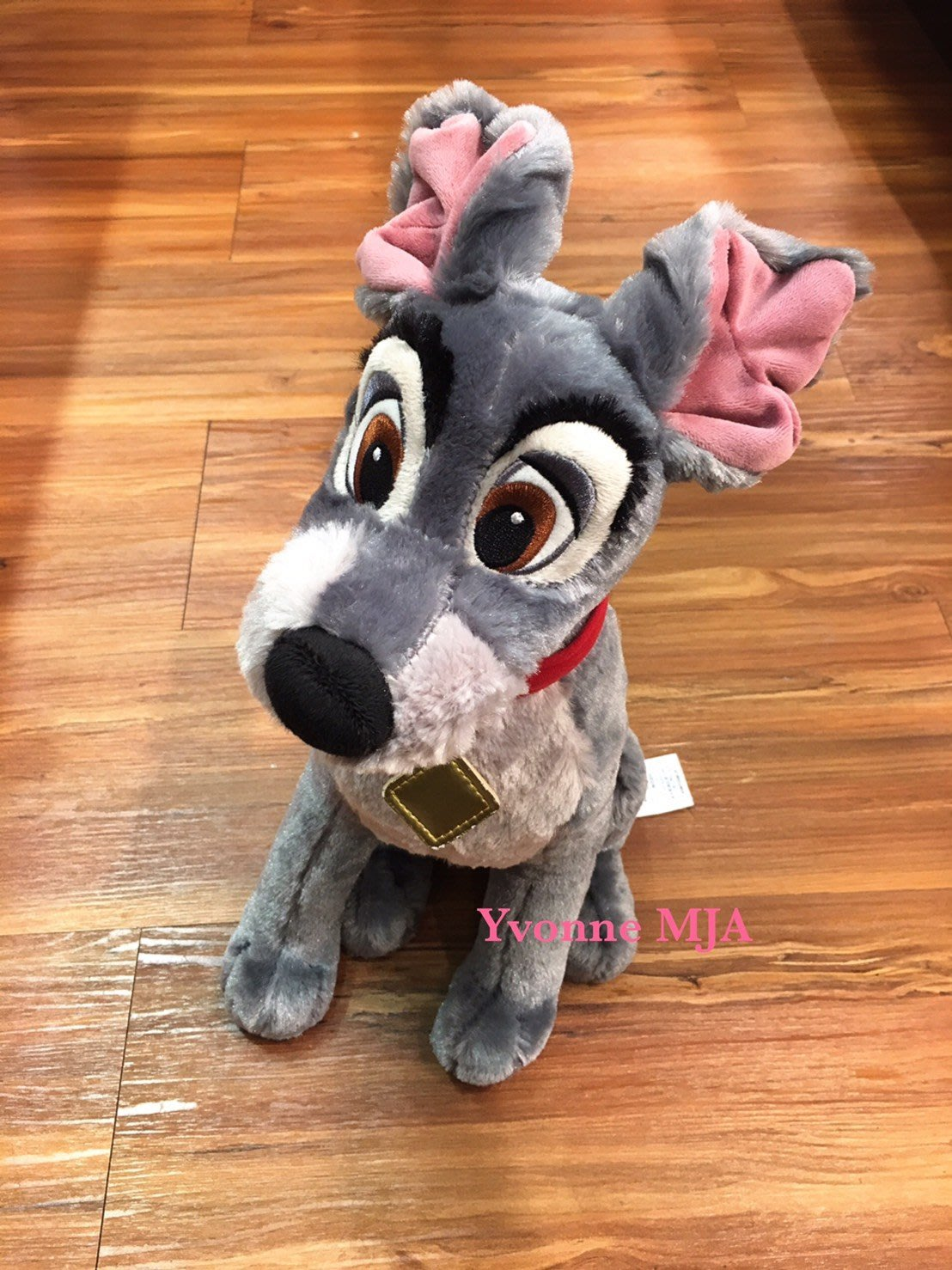 *Yvonne MJA*美國迪士尼Disney 商店限定正品小姐與流氓 (流氓Tramp)大型娃娃