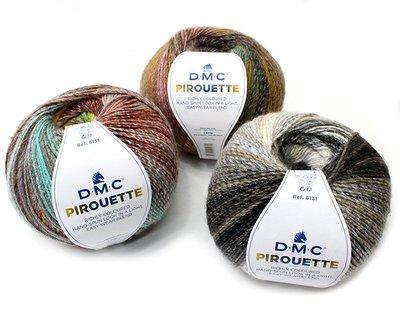 DMC PIROUETTE蓓爾繽紛毛線200g/500m~適合編織圍巾、圍脖、披肩、手套、帽子、毛衣☆彩暄手工坊☆