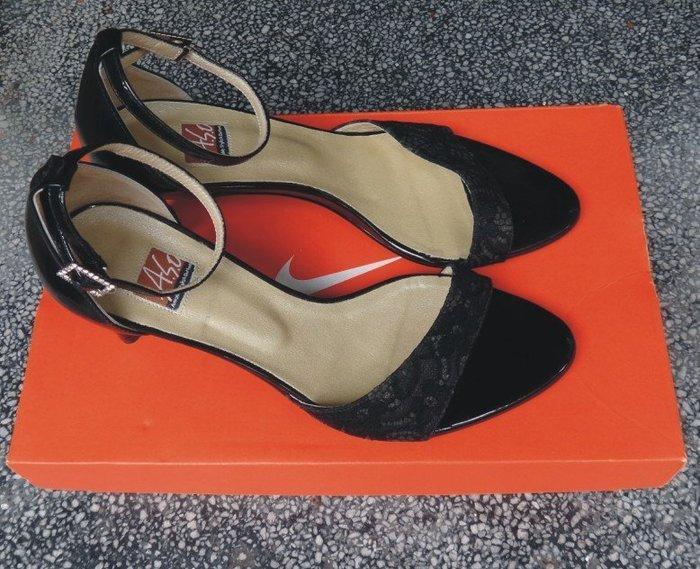 專櫃ASO真皮涼鞋