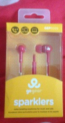 全新GoGear 耳道式耳機麥克風 GEP3005