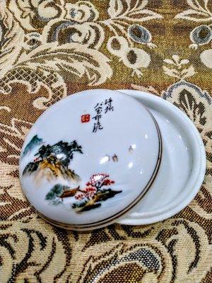 臺南城文創 手工印泥蓋盒#3