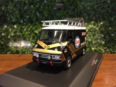 1/43 IXO Fiat 242 Van Rallye Assistance Esso RAC280X【MGM】