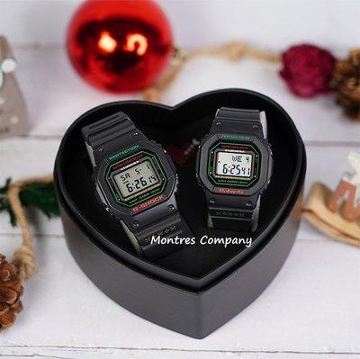 Montres Company香港註冊26年老店 卡西歐 CASIO g-shock baby-g 聖誕 情侶錶 防水 LOV-19B-1 黑色有現貨