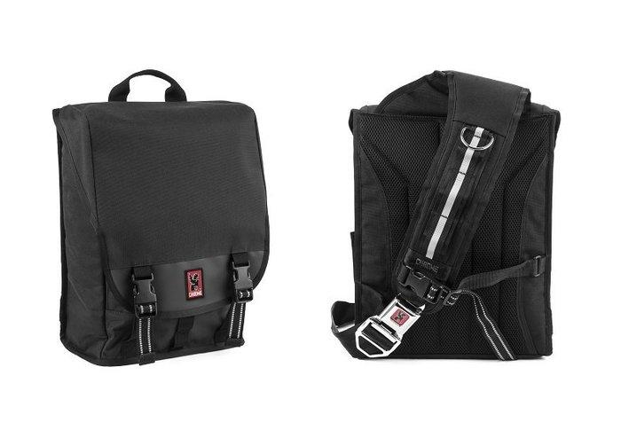 { POISON } CHROME SOMA MESSENGER BAG 單肩式後背郵差包 由DJ黑膠唱片專用包發想設計